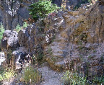 湯俣温泉 噴湯丘