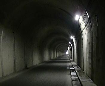 湯俣温泉 山の神トンネル