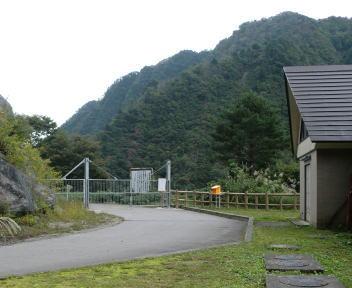 湯の平温泉 加治川治水ダムのゲート
