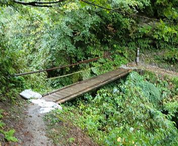 湯の平温泉 登山道②