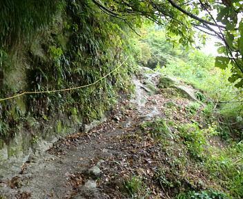 湯の平温泉 登山道③