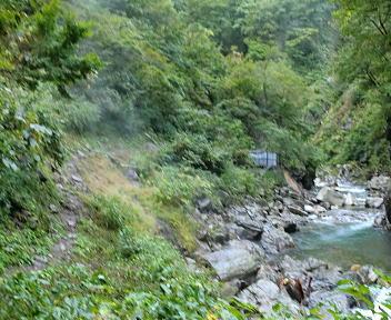 湯の平温泉 登山道④