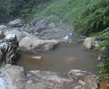 湯の平温泉 混浴露天風呂①