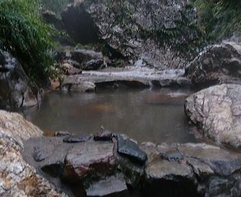 湯の平温泉 混浴露天風呂②
