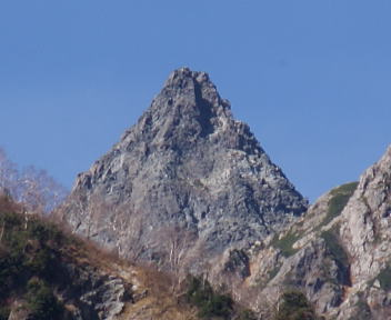 槍ヶ岳 2010年10月23日