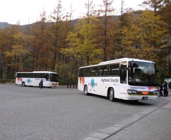 上高地 シャトルバス