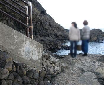 角田山登山 灯台コース スタート