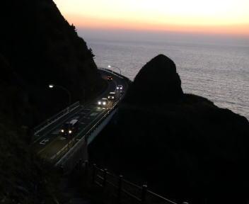 角田山登山 灯台コース ⑫