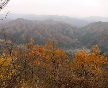 日本国 蛇逃峠景色