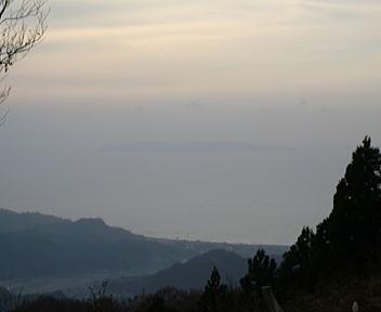 日本国 山頂 粟島
