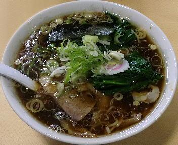 青島西掘 ラーメン(大)+ねぎ50+ほうれん草50
