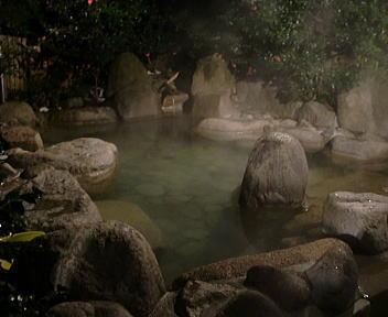 村杉温泉 露天風呂 風呂