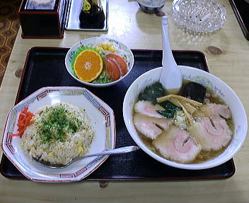 福助 Aセット(チャシュー麺)