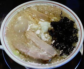 楓 大油中華そば(味玉入り)
