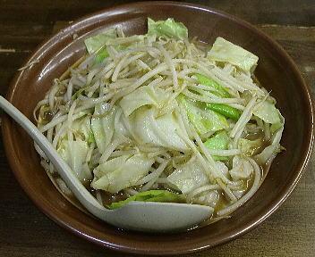 東横駅南店 野菜みそラーメン