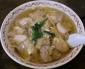 くら田 チャーシューメン(ダブル・平麺)