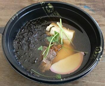 城下町しばた全国雑煮合戦 アサヒ亭(鳥取県) 山陰の味 神楽雑煮