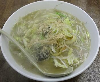東横駅南店 塩野菜ラーメン