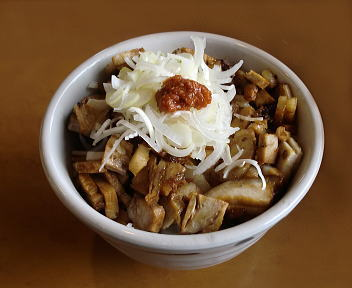 福麺 ミニ辛子豚丼5