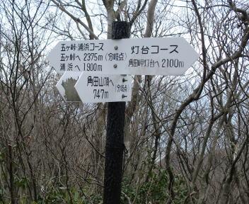 角田山 五ヶ峠コース⑪