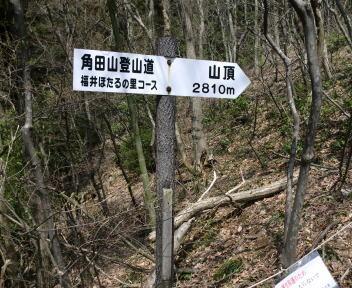 角田山 福井ほたるの里コース③