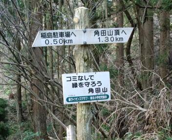 角田山 稲島コース④