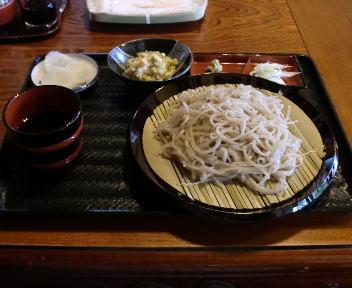 茅乃庵 ざる蕎麦