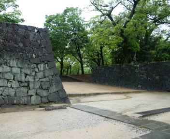 熊本城 二の丸広場入口