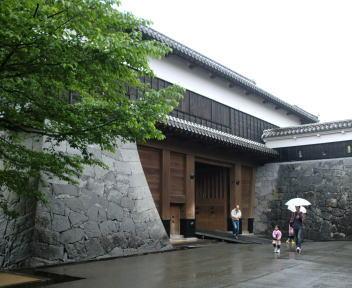 熊本城 西大手櫓門