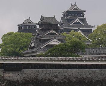 熊本城 二の丸広場より