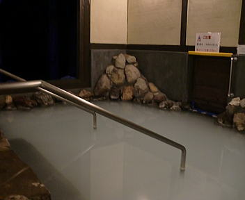 別府温泉 ホテルさわやかハートピア明礬 外湯 内湯