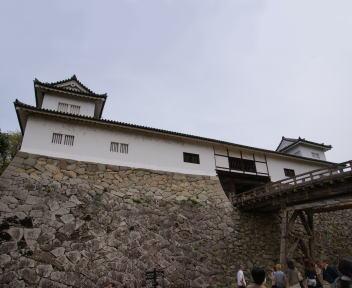 彦根城 天秤櫓(重要文化財)