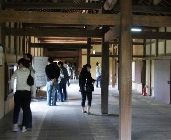 彦根城 天秤櫓 内部