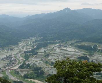 朴坂山 展望台 光兎山