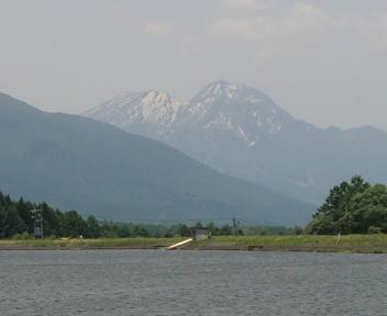 霊仙寺湖 妙高山