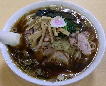 青島西掘通店 ラーメン(大)+麺50