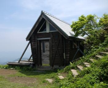 米山 山頂 トイレ