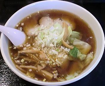 万華 万華ラーメン(醤油)