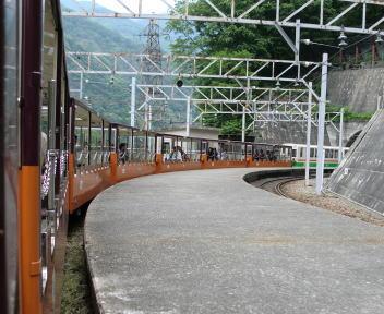 黒部峡谷鉄道 宇奈月→欅平