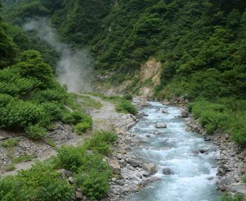 黒部峡谷 欅平→祖母谷温泉