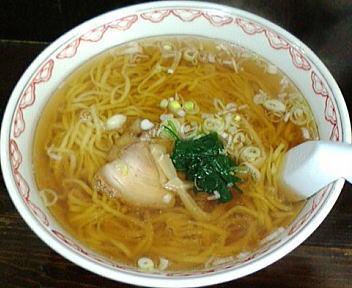 くら田 ラーメン(平麺ダブル)