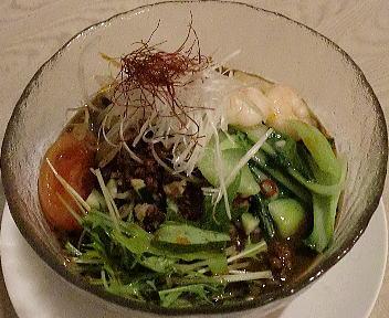 慶楽 黒冷やし担々麺