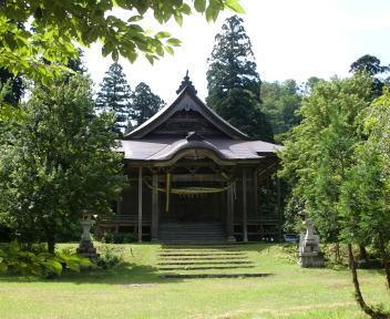 二王子岳 二王子神社