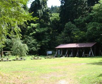二王子岳 二王子神社キャンプ場