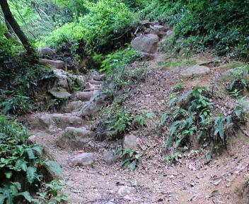 二王子岳 登山コース