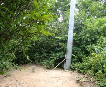 二王子岳 登山コース 定高山
