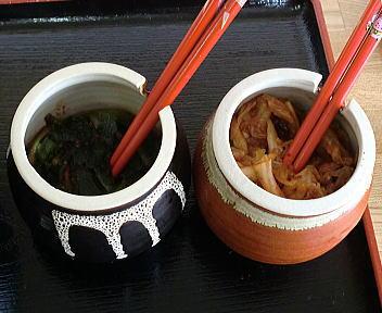 麺次郎 ニラなんばんらーめん 薬味