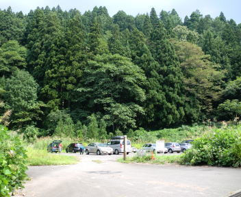 鋸山 駐車場