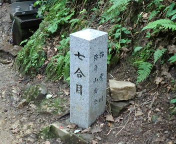弥彦山 表参道ルート ⑮