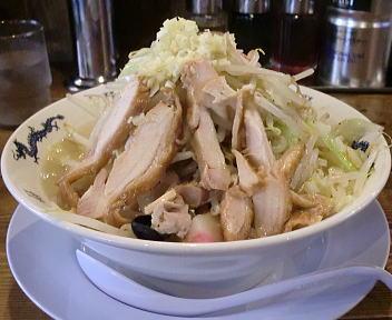ダルマ食堂 ちゃんタンメン+野菜増し 前面より
